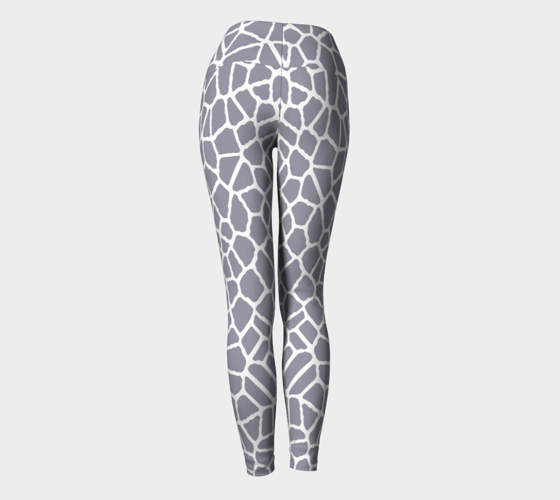 Aperçu de staklo (gray/white) yoga leggings #4