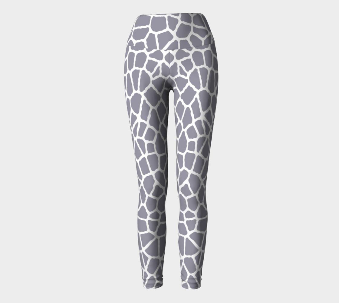 Aperçu de staklo (gray/white) yoga leggings #2