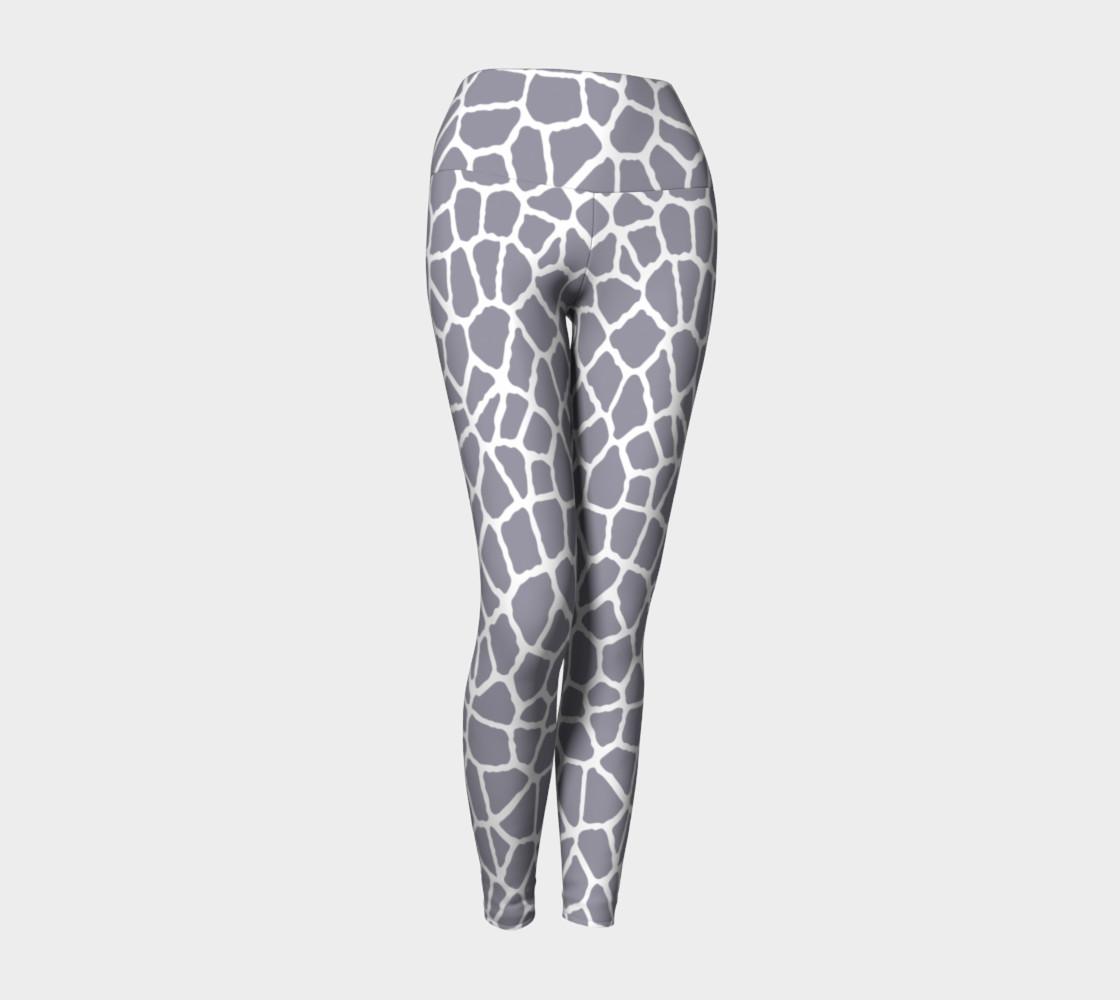 Aperçu de staklo (gray/white) yoga leggings #1