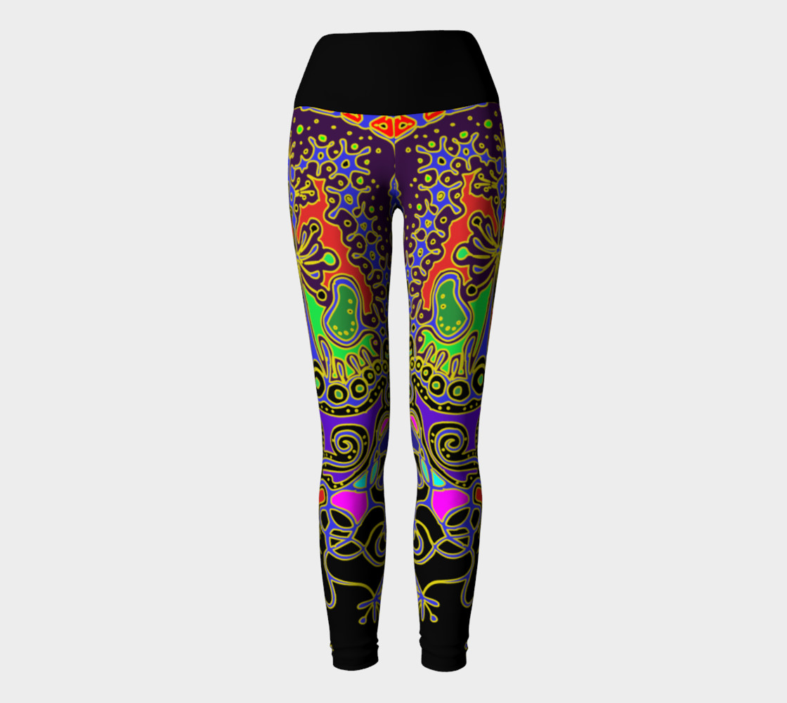 Aperçu de 'Animal' yoga leggins #2