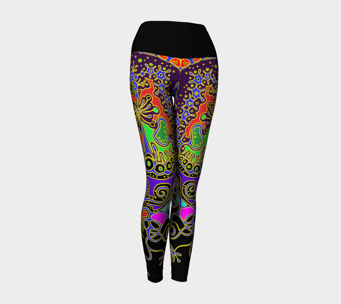 Aperçu de 'Animal' yoga leggins #1