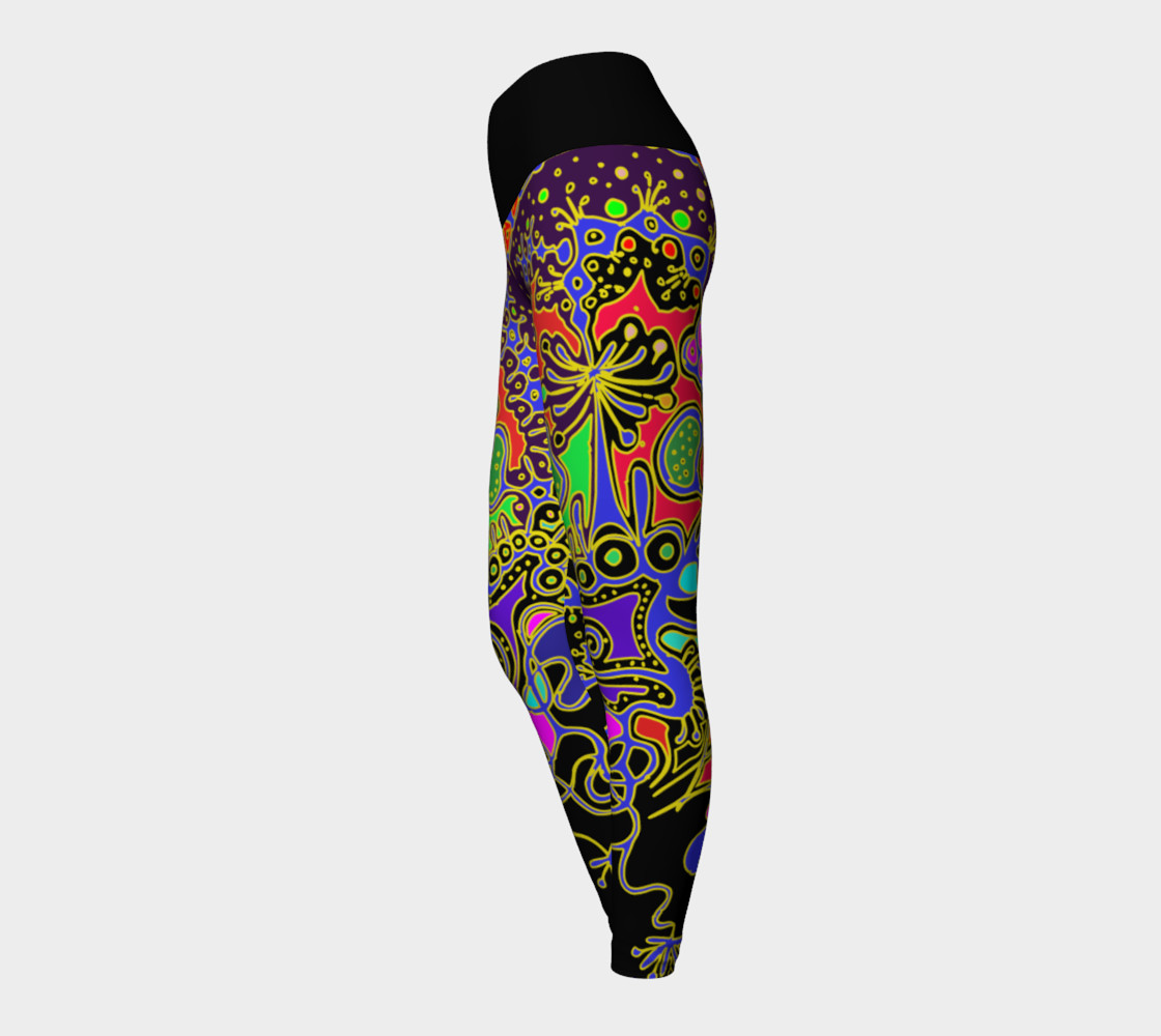 Aperçu de 'Animal' yoga leggins #3