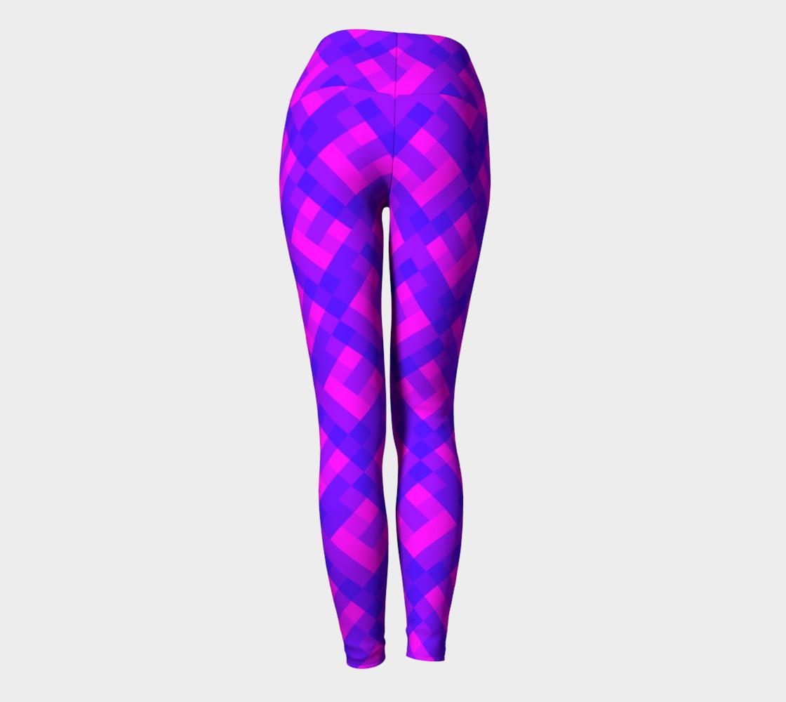 Aperçu de Violet pink pixels #4