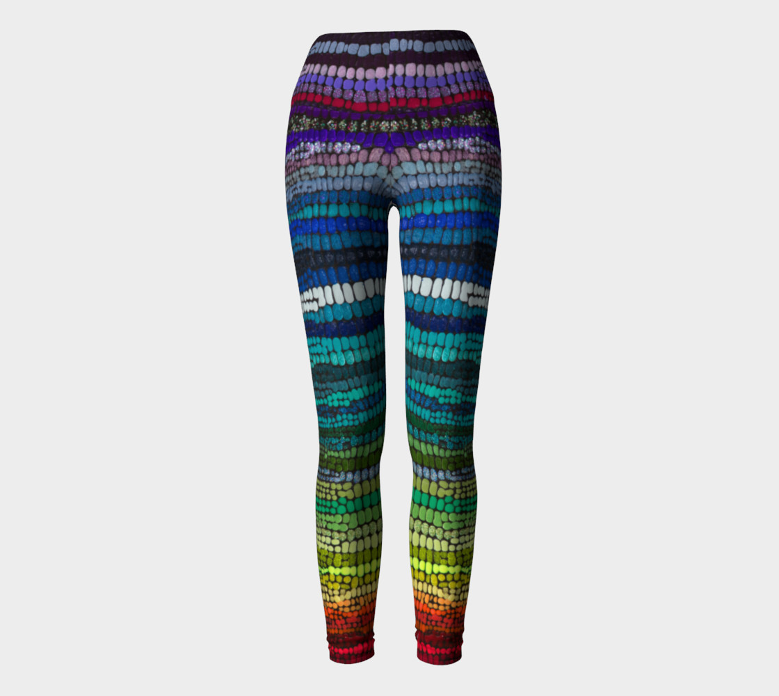 rainbow yoga pant Miniature #3