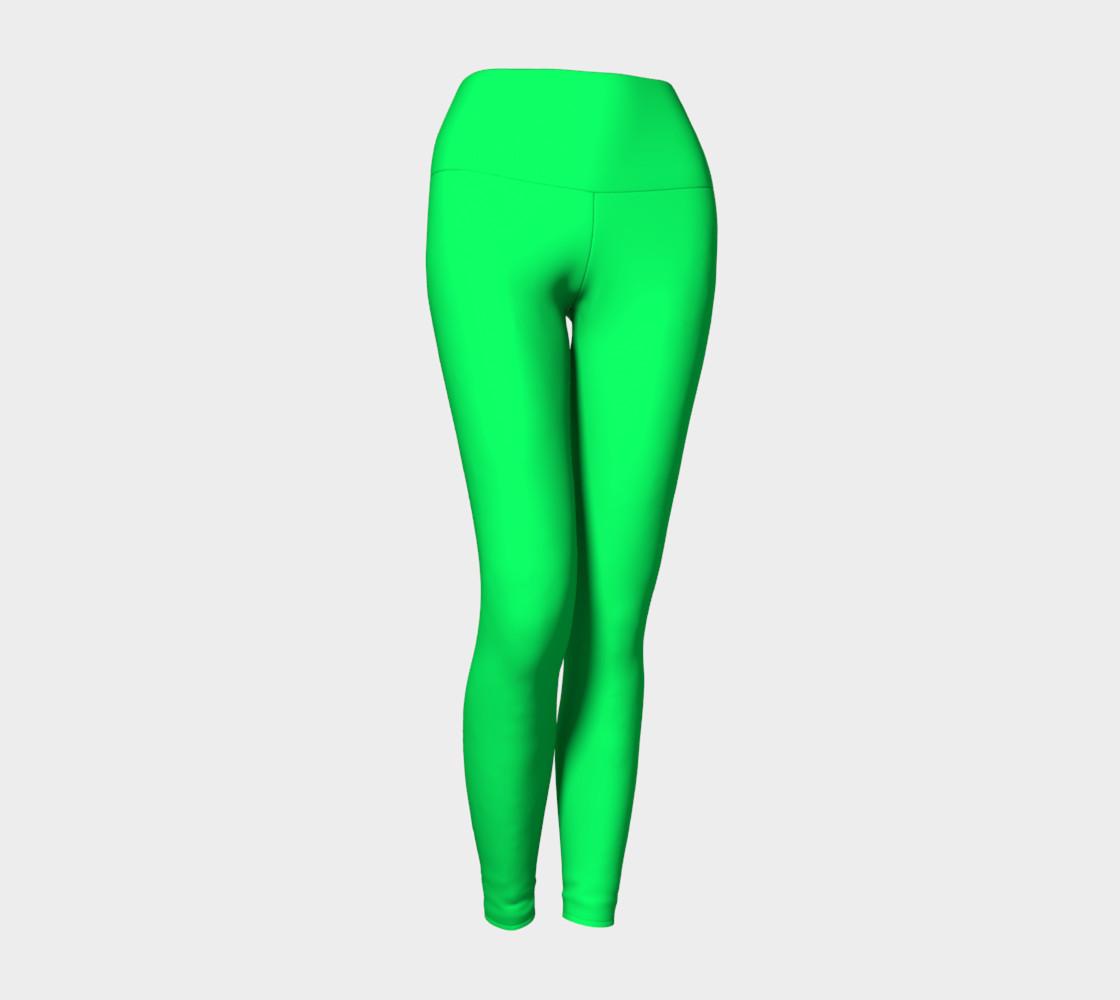 Spring Green Yoga Leggings preview #1