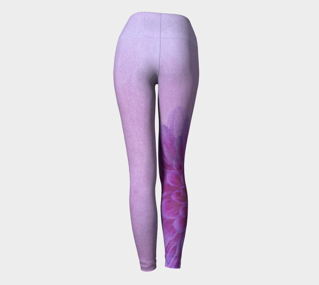 Pink Dahalia Yoga Pants preview #4