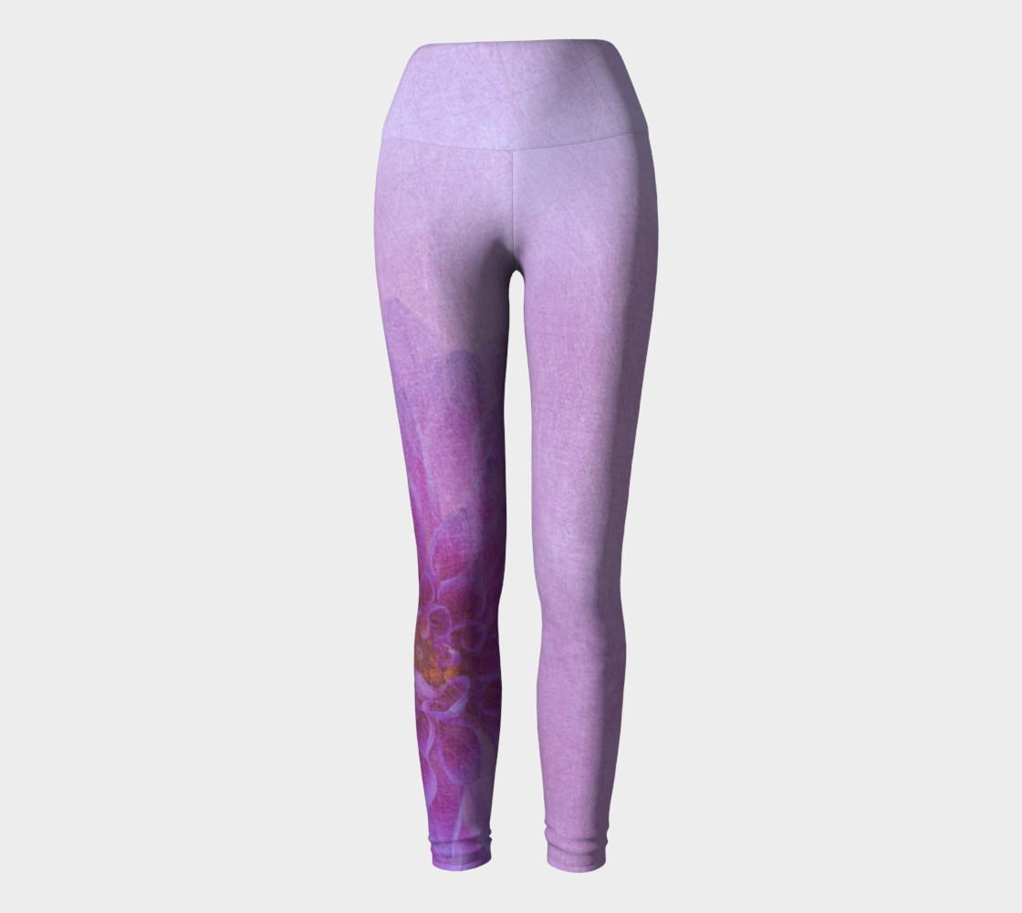 Pink Dahalia Yoga Pants preview #2