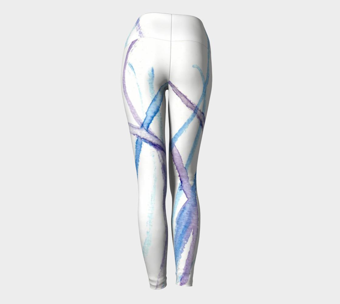 Lines Yoga Leggings preview #4