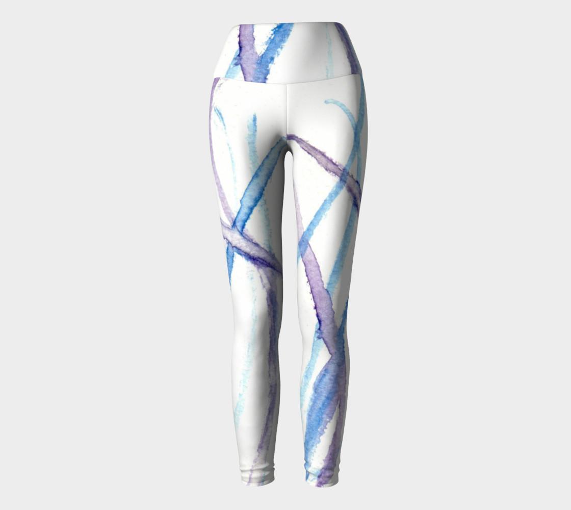 Lines Yoga Leggings preview #2