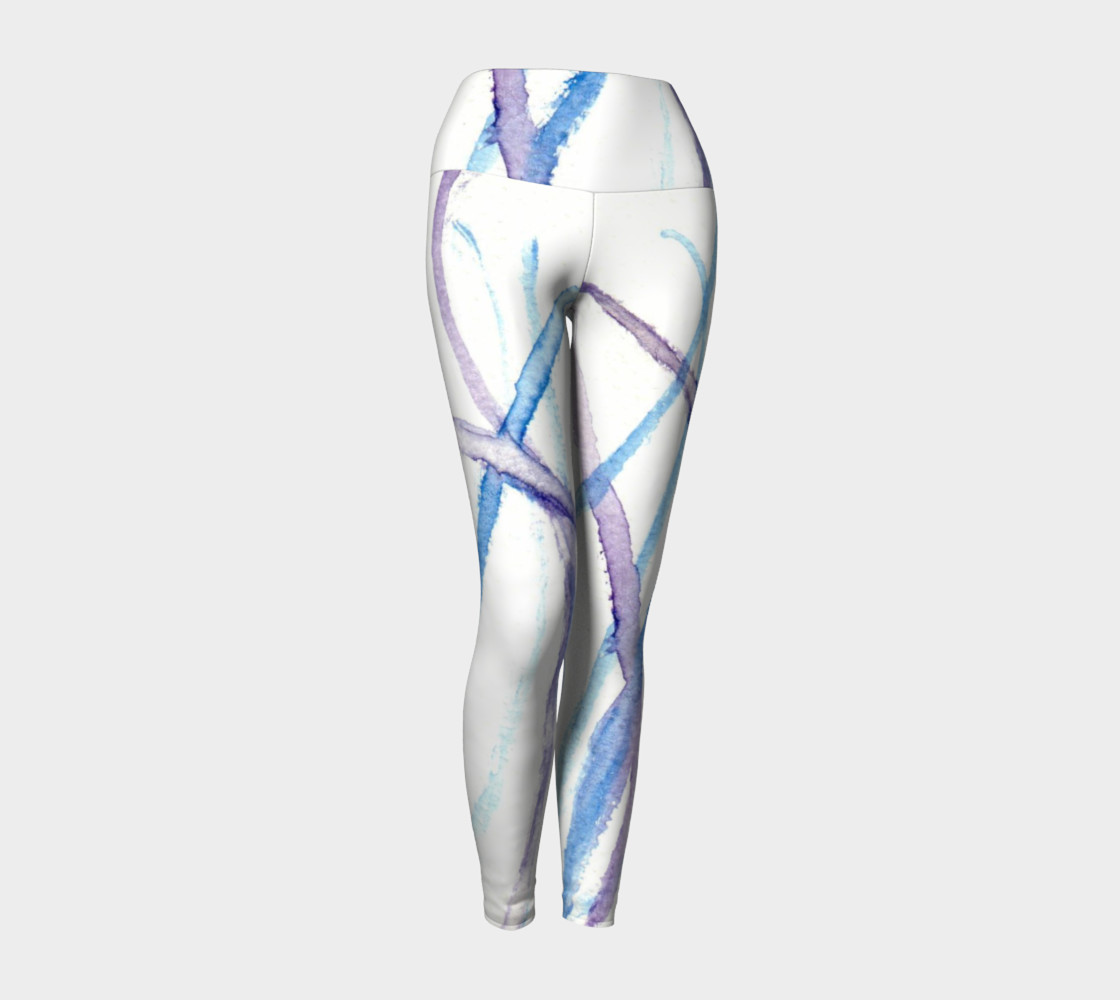 Lines Yoga Leggings preview #1