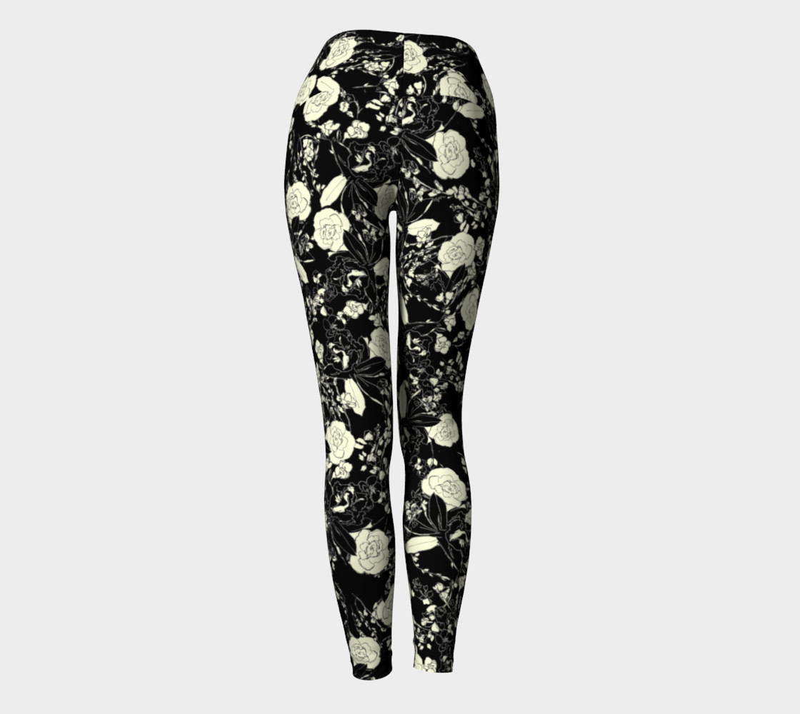 Floral Leggings preview #4