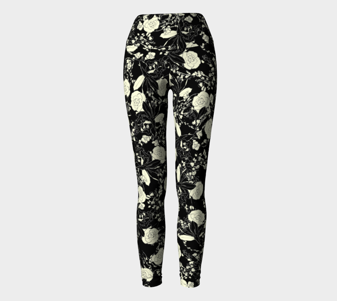Floral Leggings preview #2