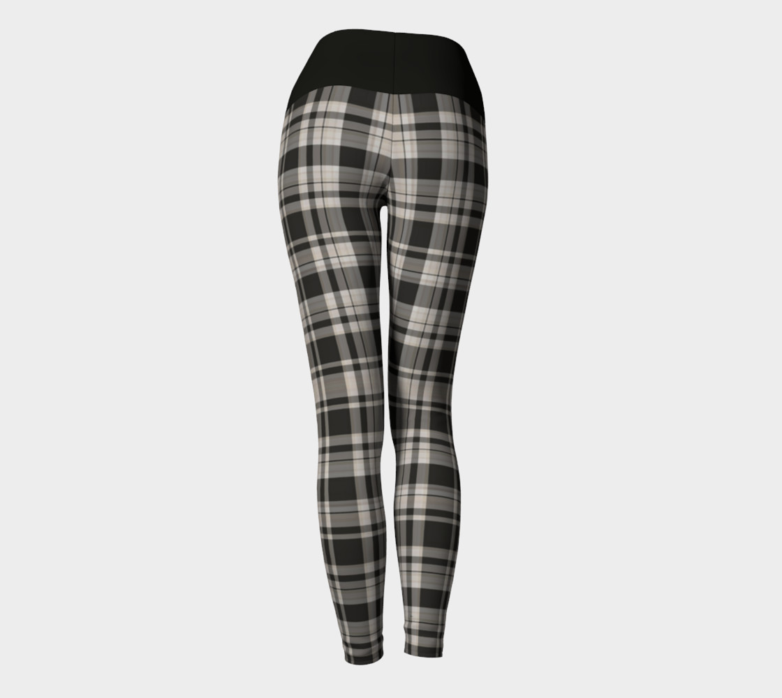 Black and White Plaid  preview #4