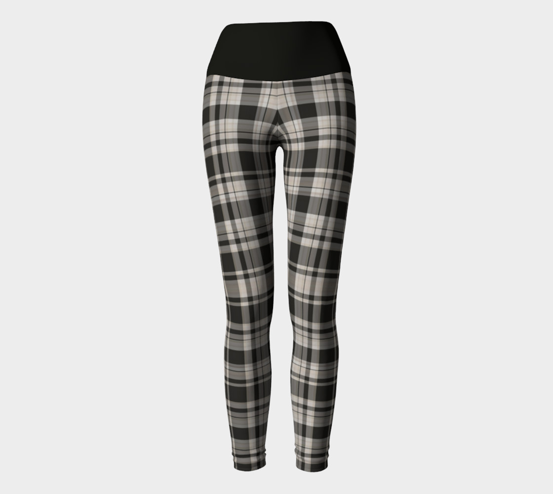 Black and White Plaid  preview #2