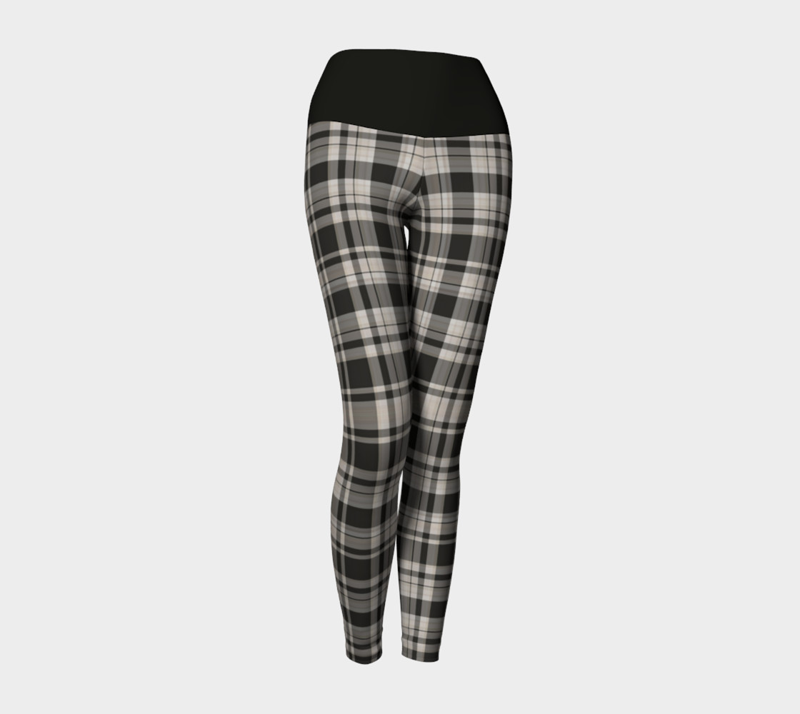 Black and White Plaid  preview #1