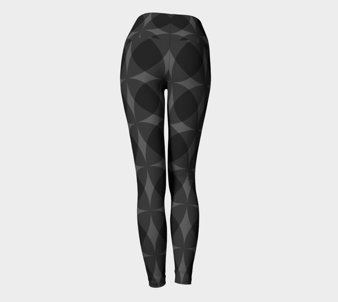 Aperçu de denuti (black) yoga leggings #4