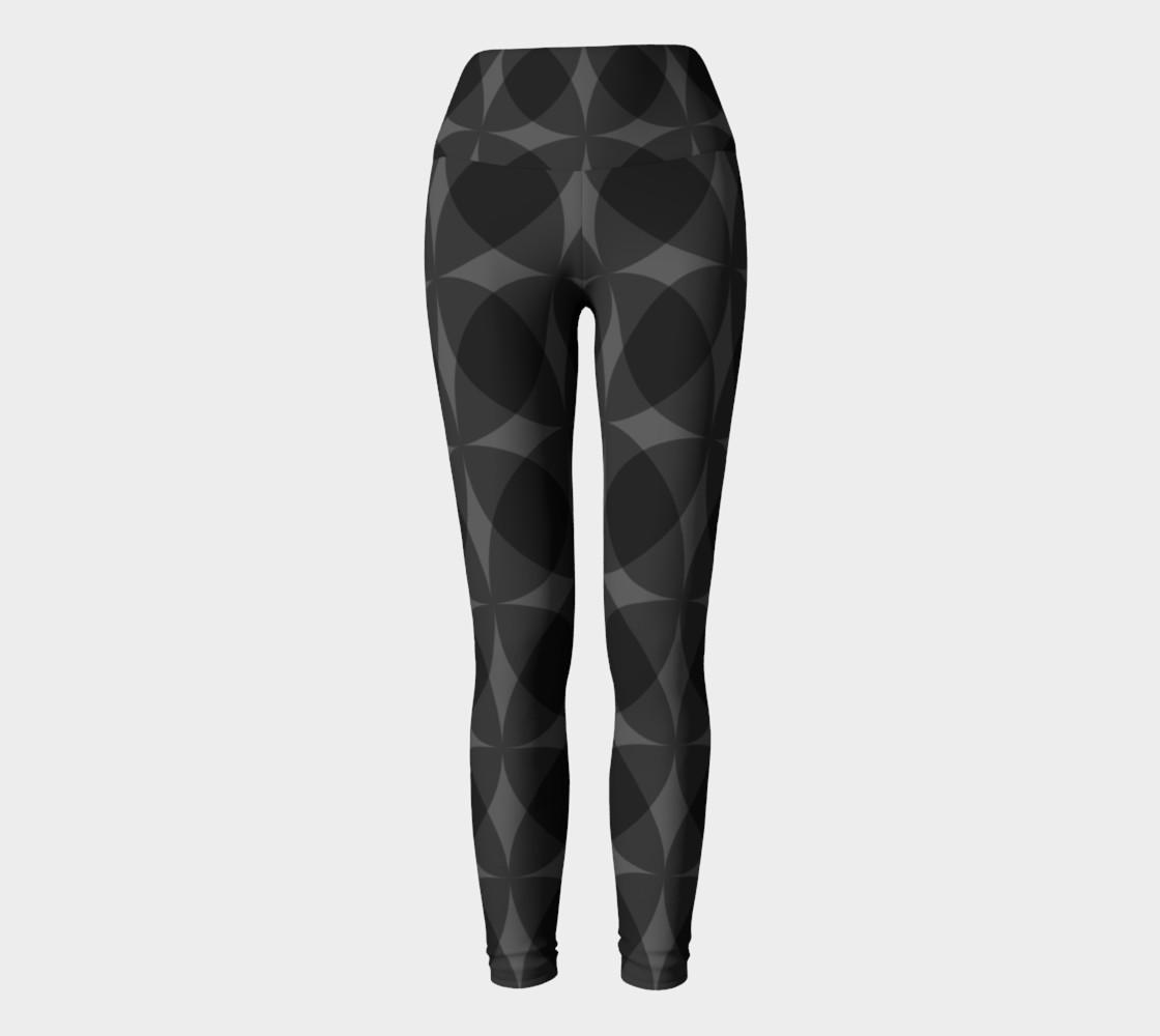 Aperçu de denuti (black) yoga leggings #2