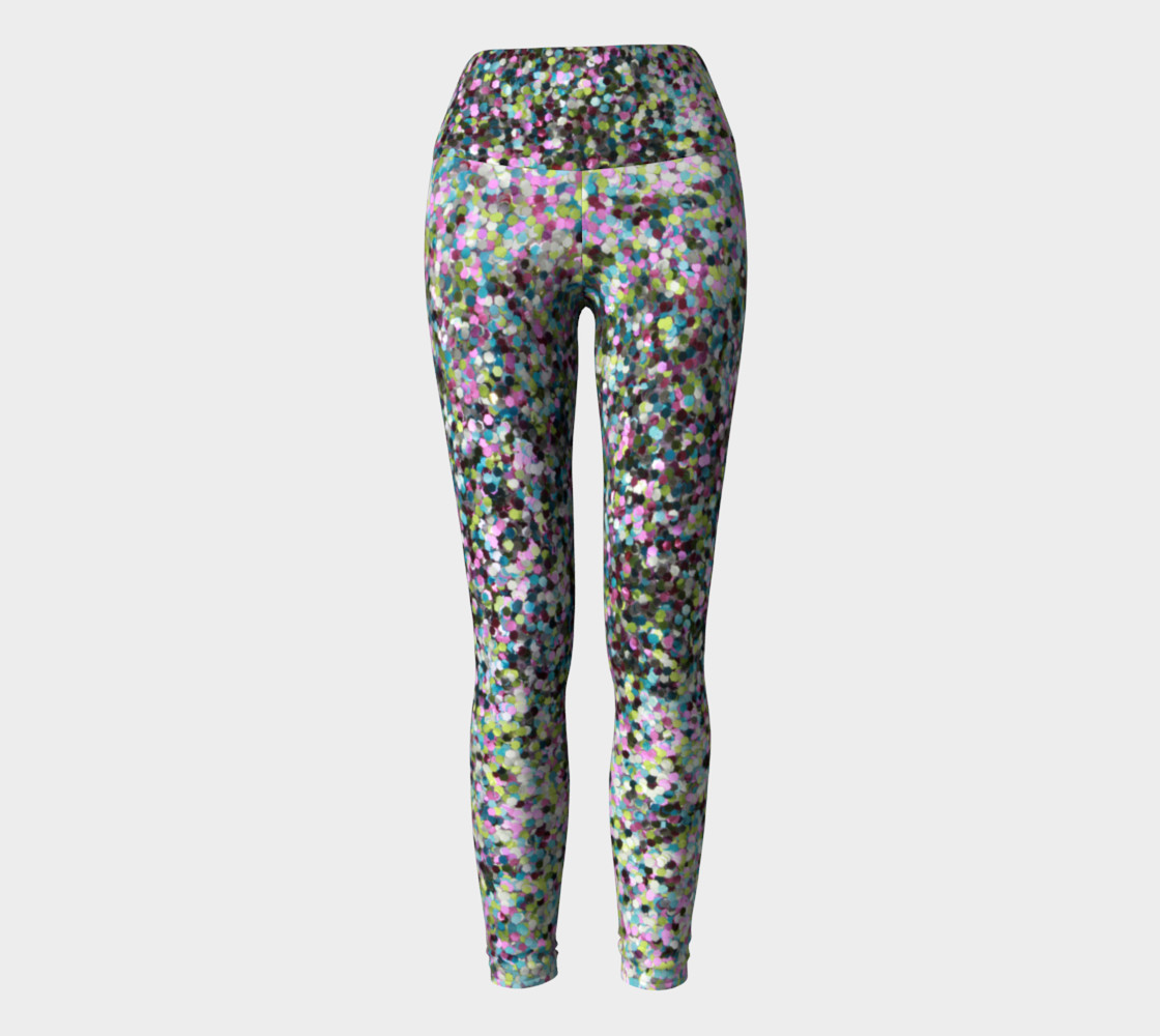 Aperçu de Yoga Leggings Glitters #2