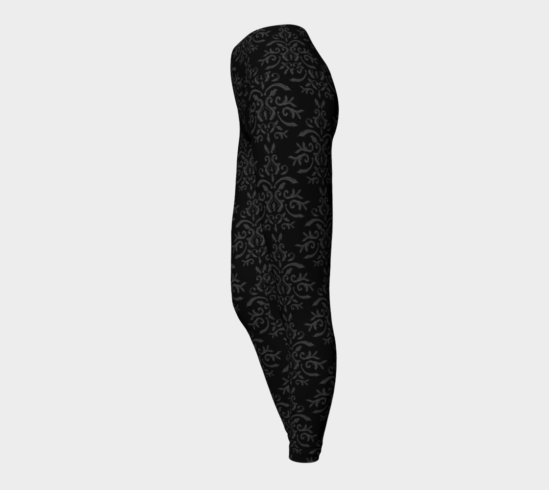 Aperçu de Black Damask French Goth #3