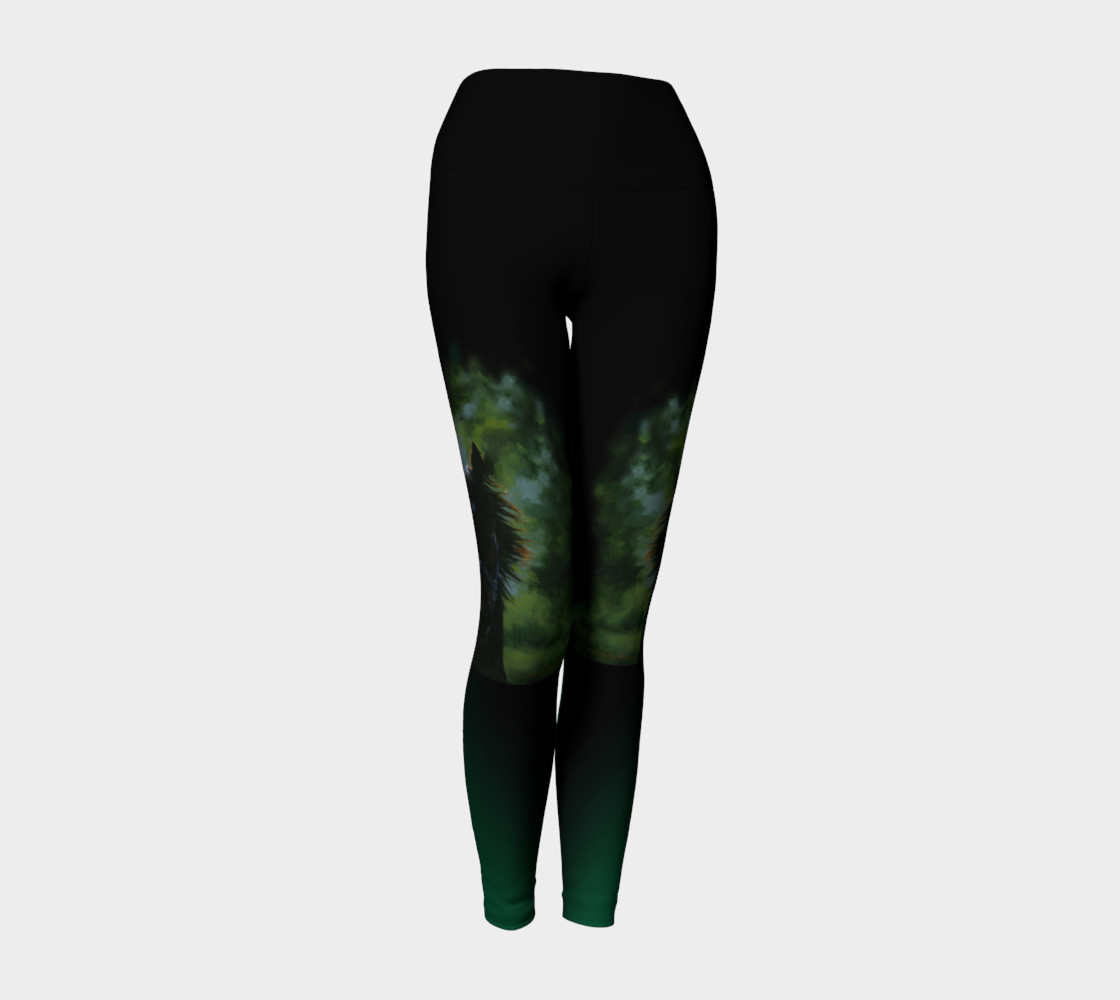 Aperçu de Kaleidoscope Yoga Legging #1
