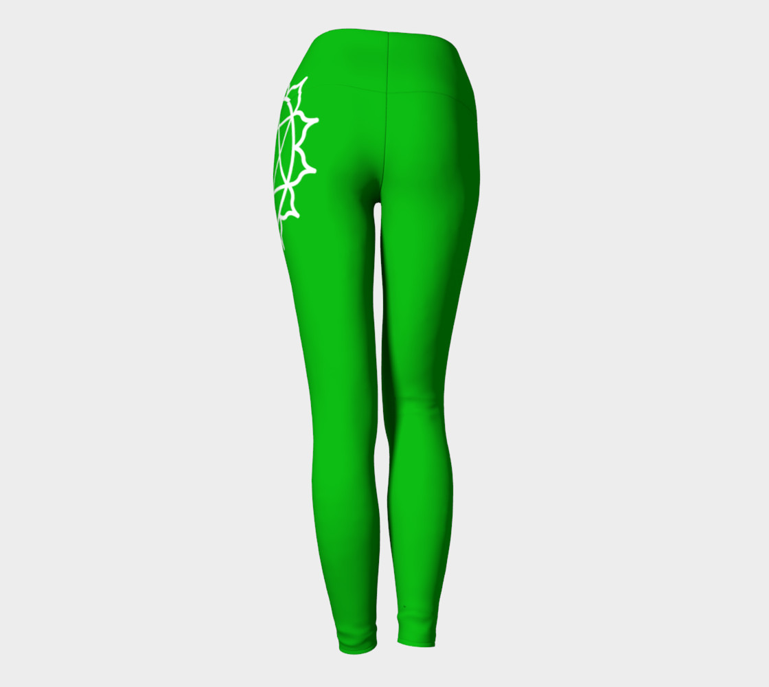 Anahata Green Chakra Yoga pants leggings preview #4