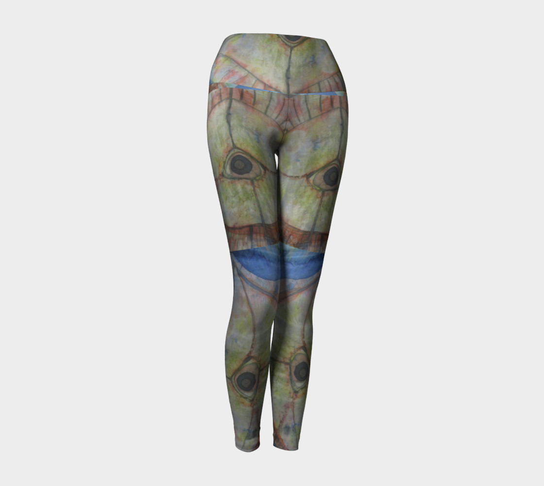 Aperçu de Eye Sea Yoga Leggings #1