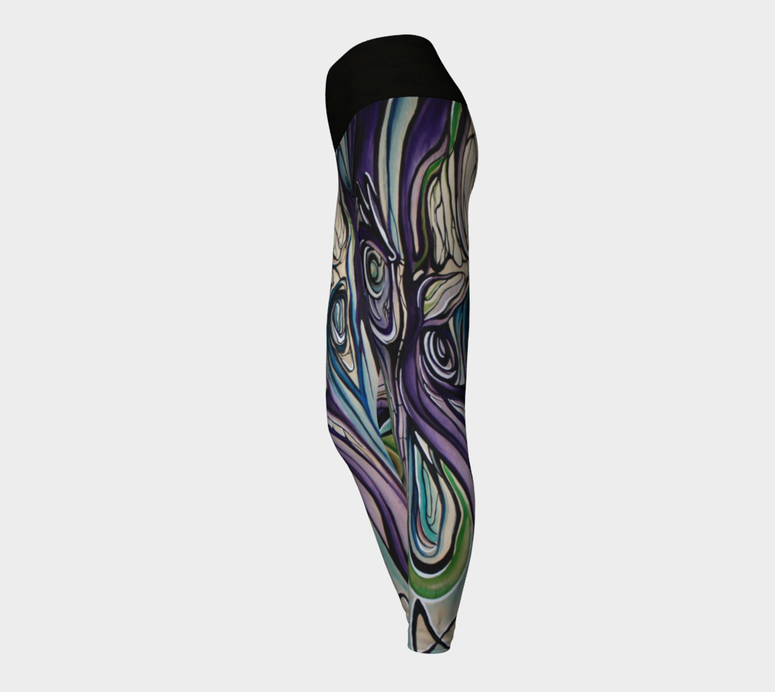 Aperçu de Flow Legging With Black Waist  #3