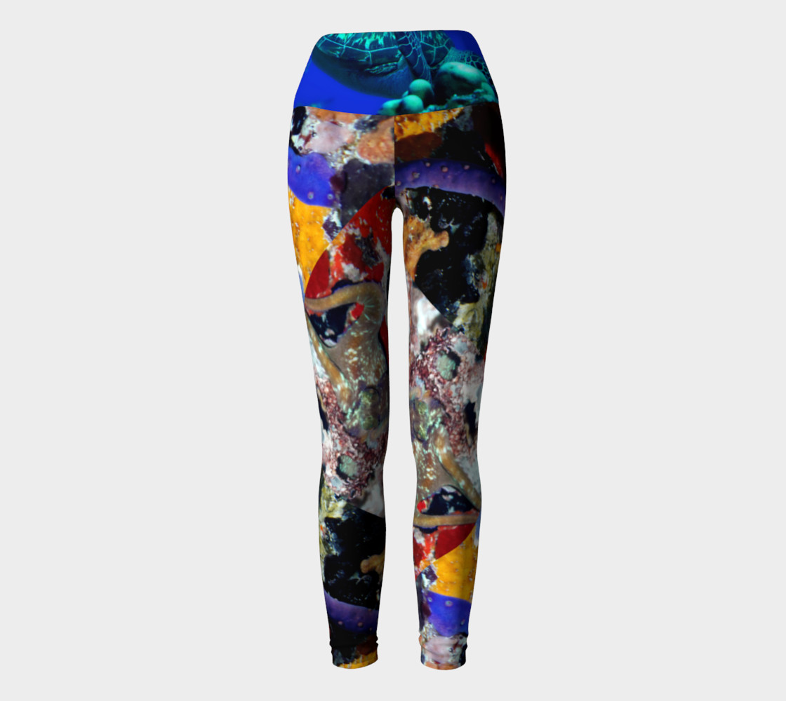 Frederiksted Pier Yoga Pants Miniature #3