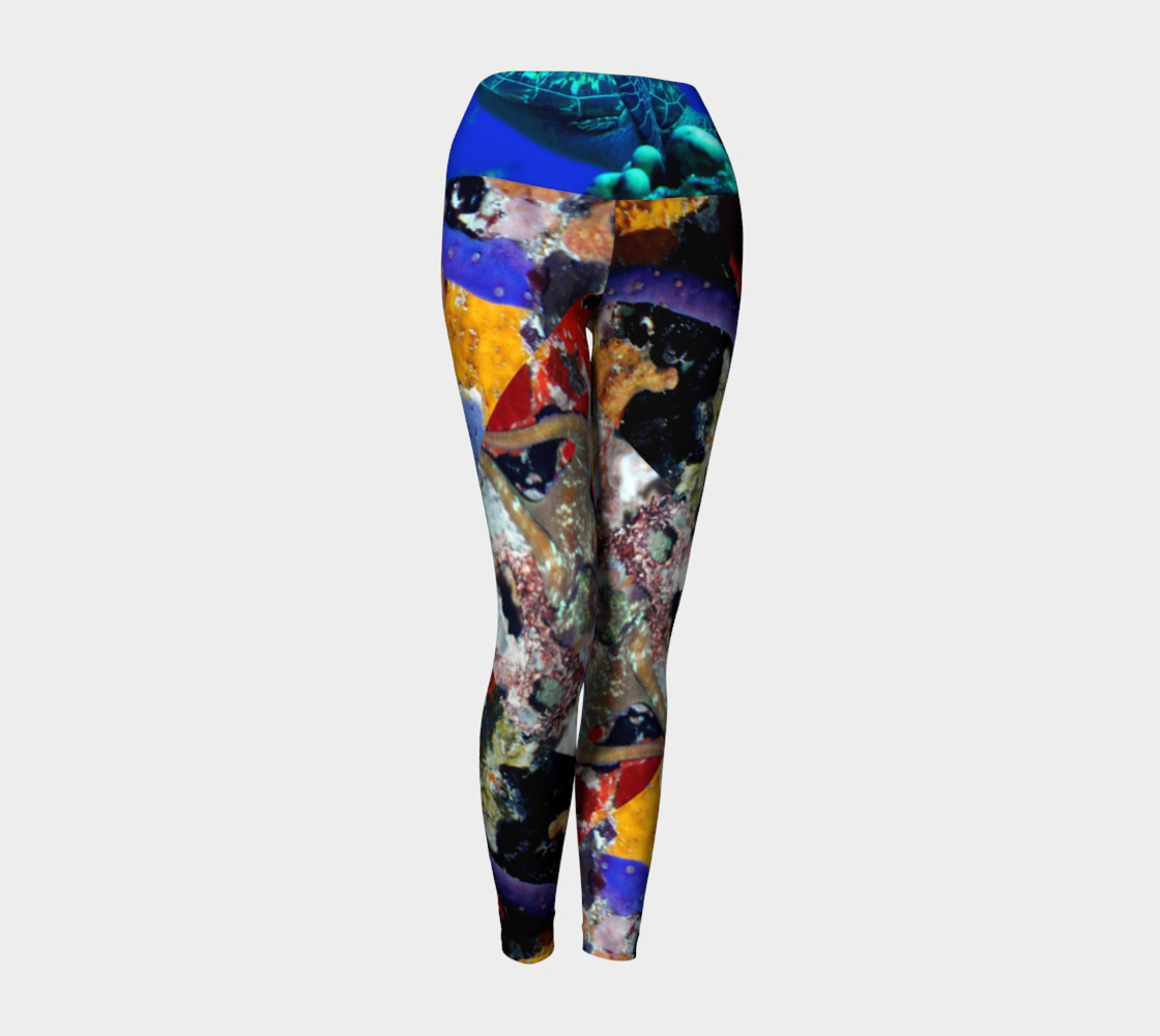 Frederiksted Pier Yoga Pants Miniature #2
