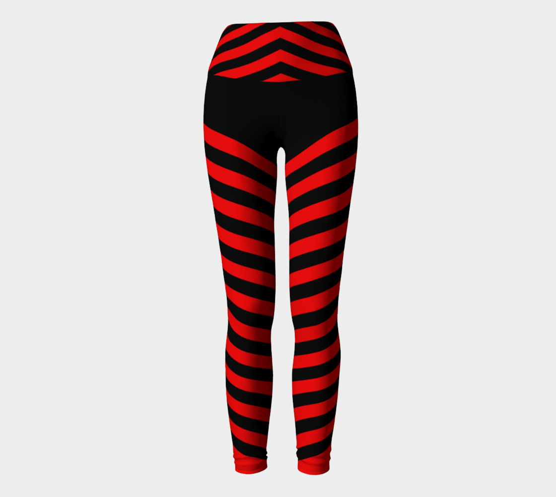 Stripes Collection - Triangle Stripes - Red  preview #2