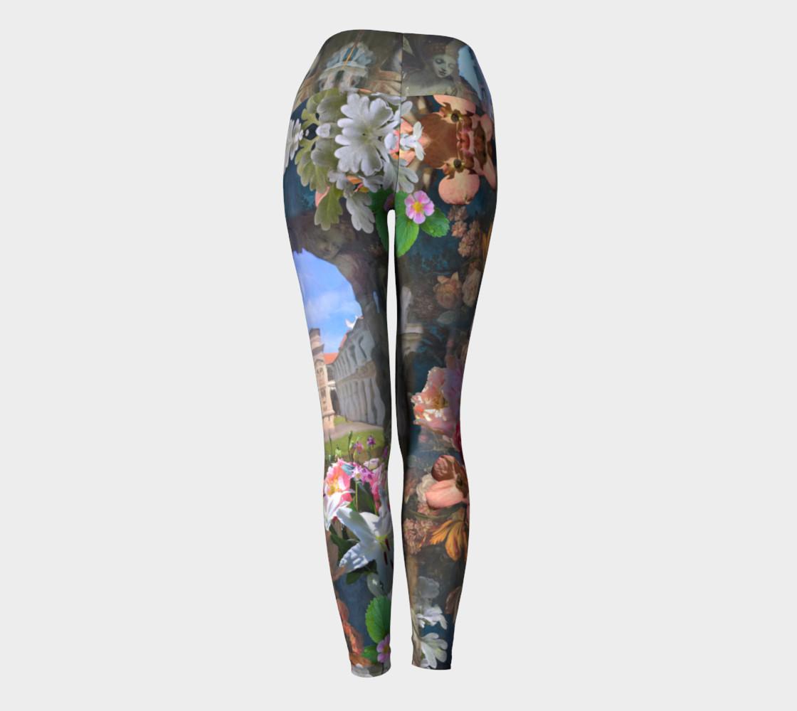 Flowers of the Loreta 1 Yoga Leggings preview #4