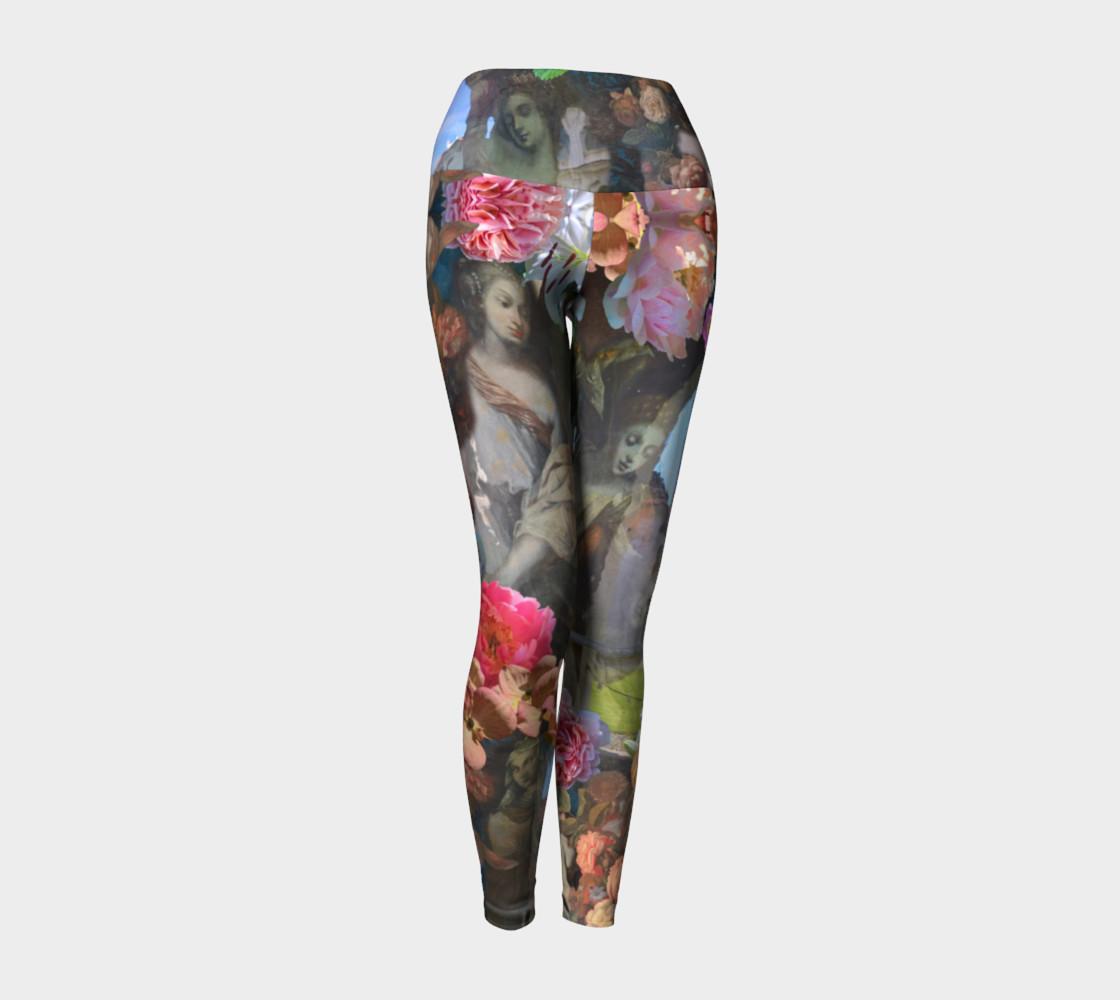 Flowers of the Loreta 1 Yoga Leggings preview #1