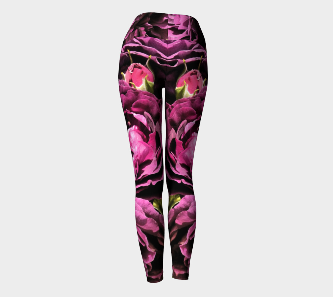 Kiss of a Rose Yoga Leggings thumbnail #5