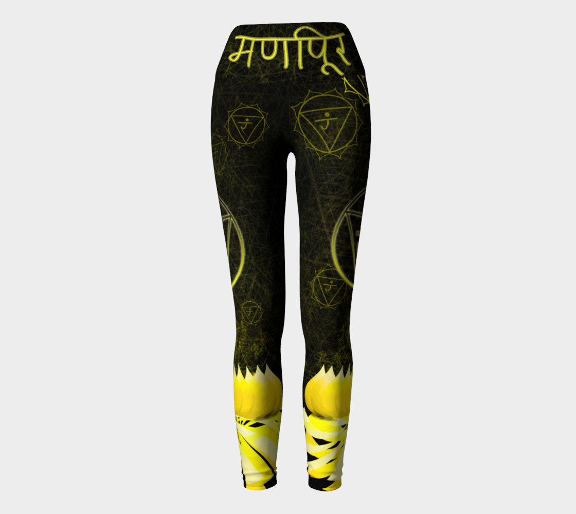 Manipura Third Chakra Yoga Energy Intentional Wear preview #2