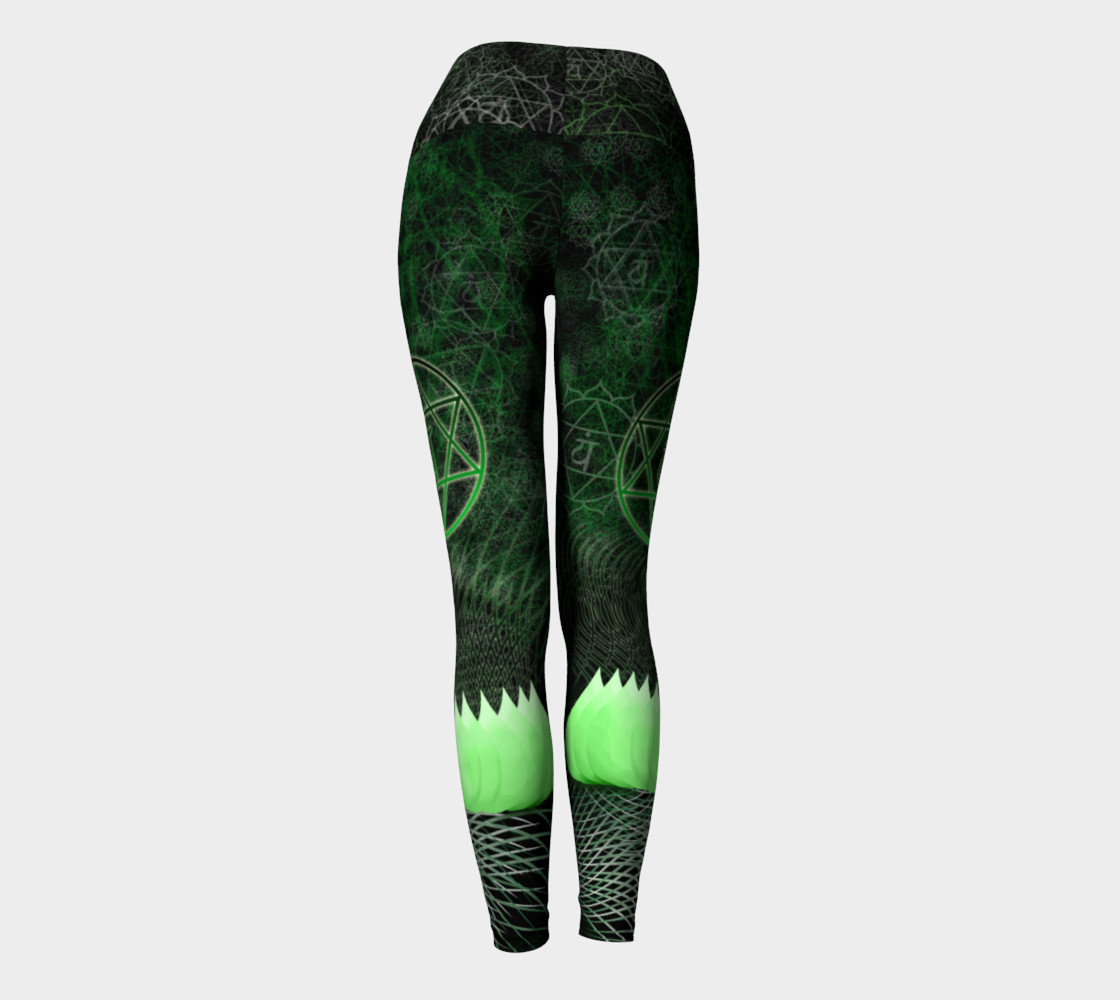 Anahata Heart Chakra Energy Pants - Intentional Wear preview #4