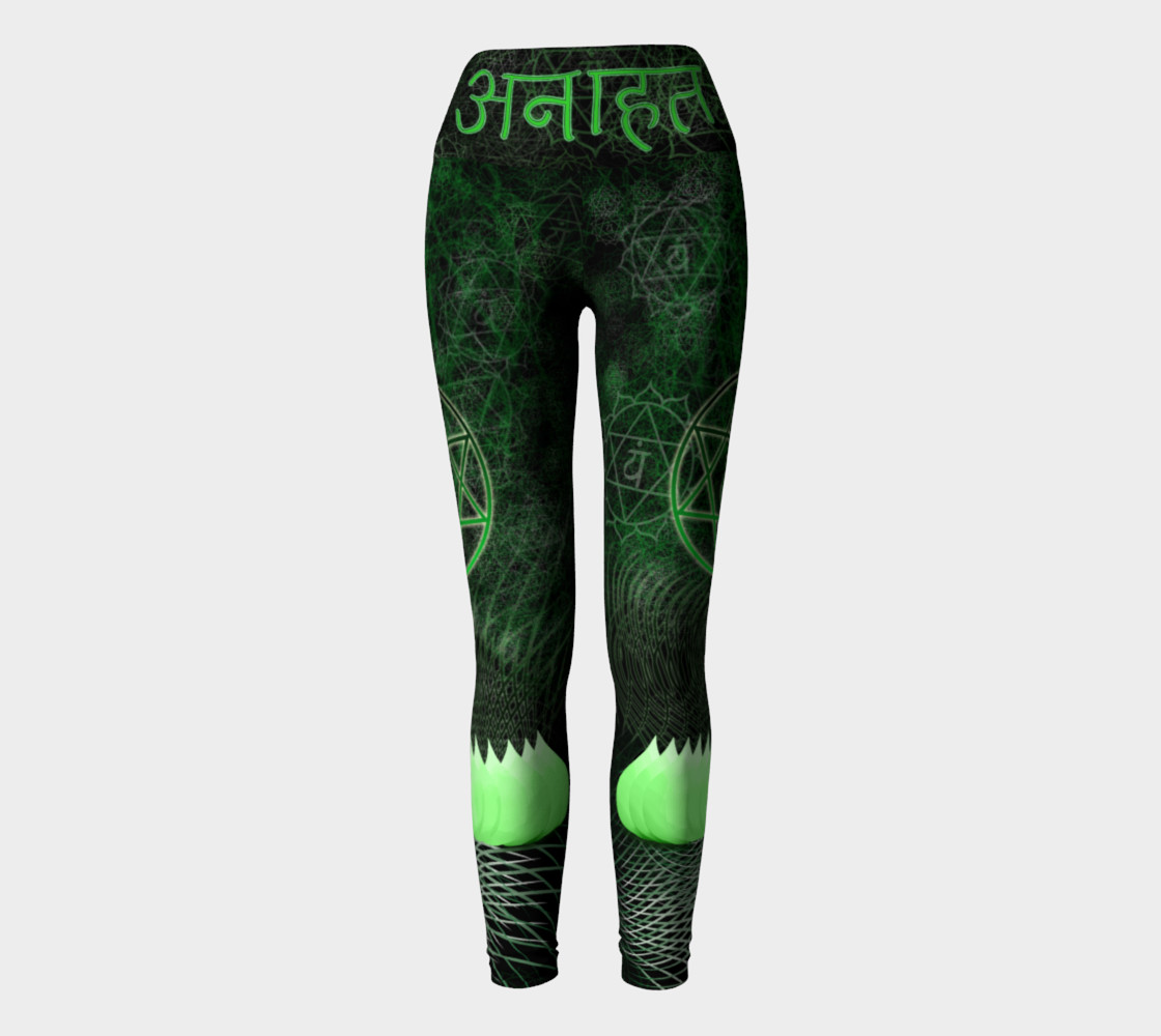 Anahata Heart Chakra Energy Pants - Intentional Wear preview #2