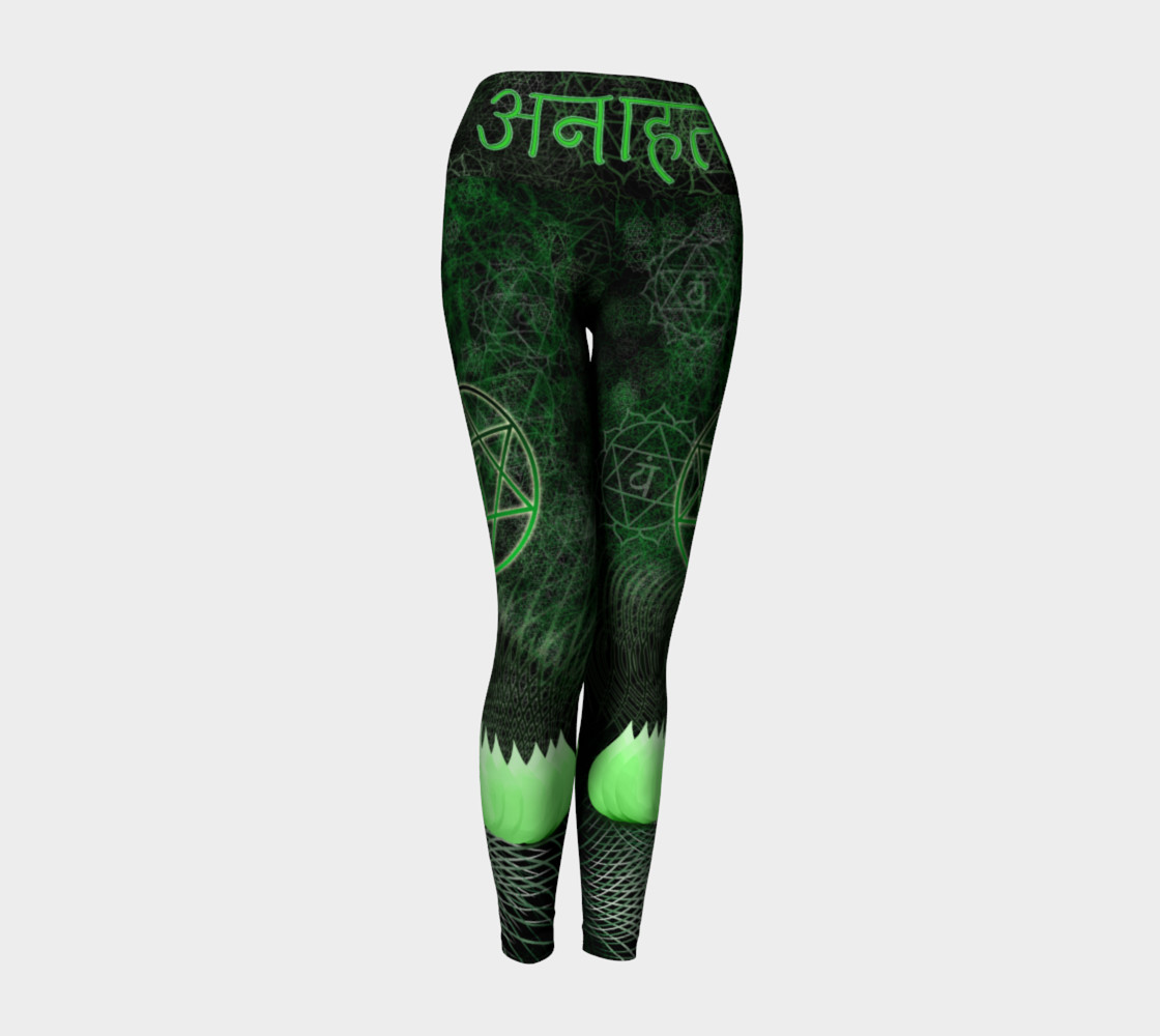 Anahata Heart Chakra Energy Pants - Intentional Wear preview #1
