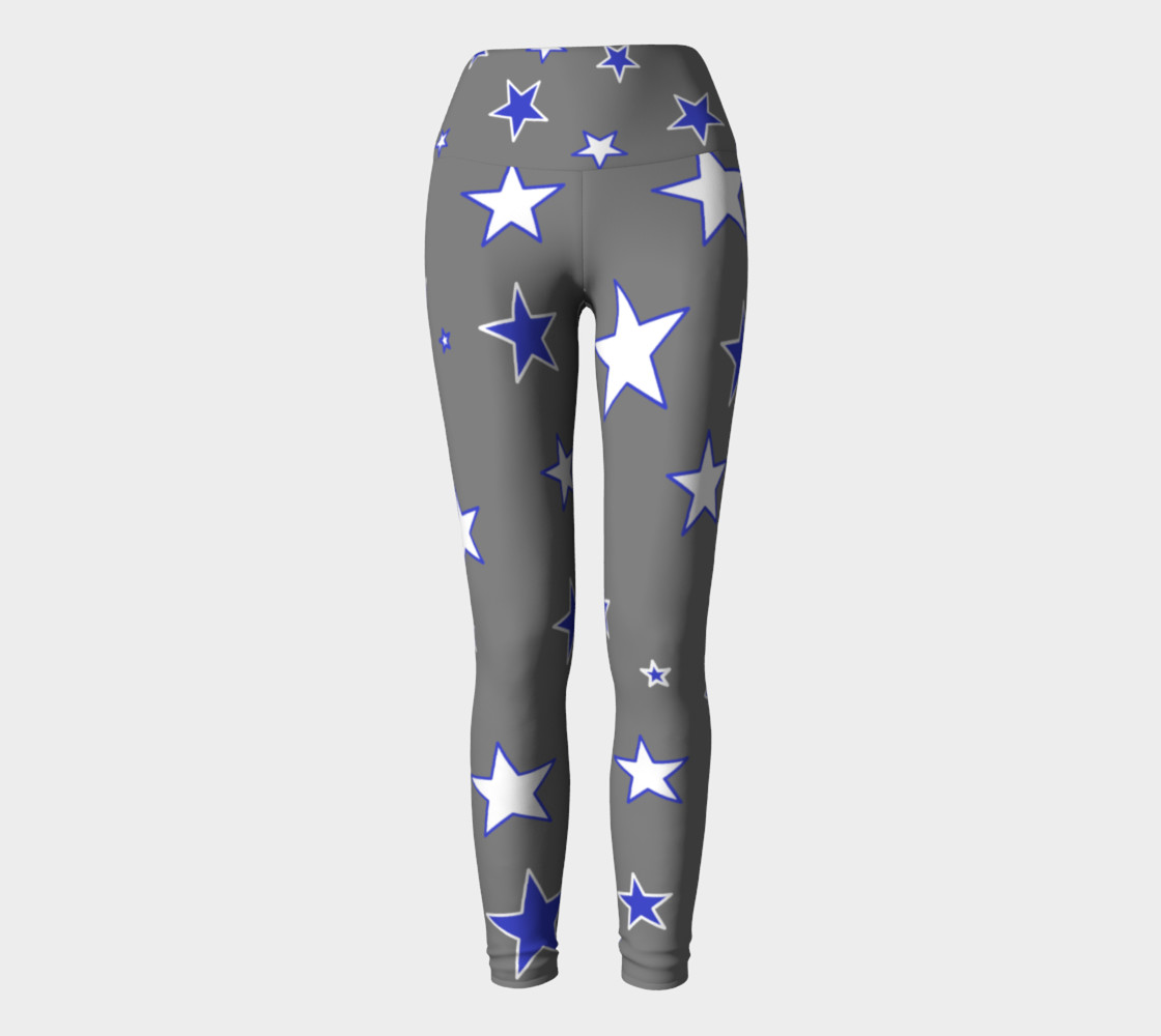 Big Texas Star Yoga Leggings preview #2