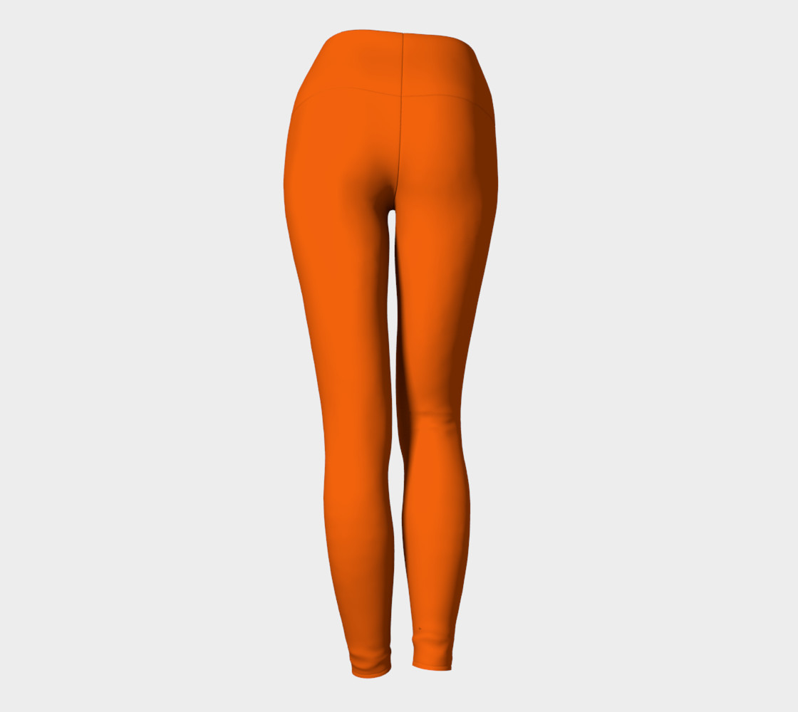 Juicy Orange Yoga Leggings preview #4