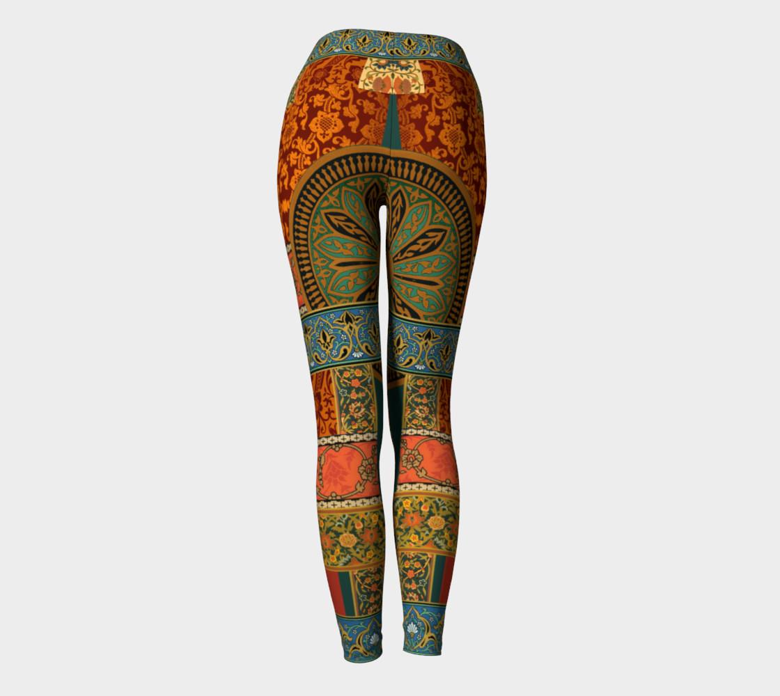Aperçu de Historic Folkloric Yoga Leggings #4
