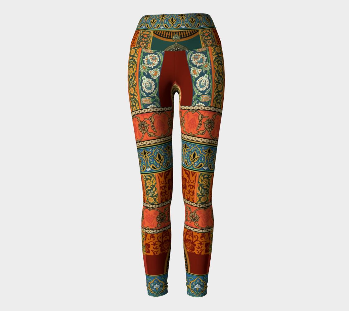 Aperçu de Historic Folkloric Yoga Leggings #2