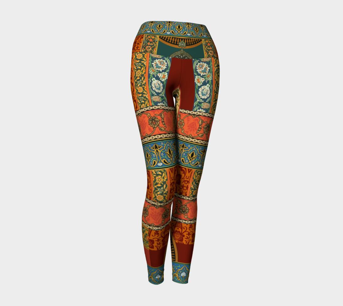 Aperçu de Historic Folkloric Yoga Leggings #1