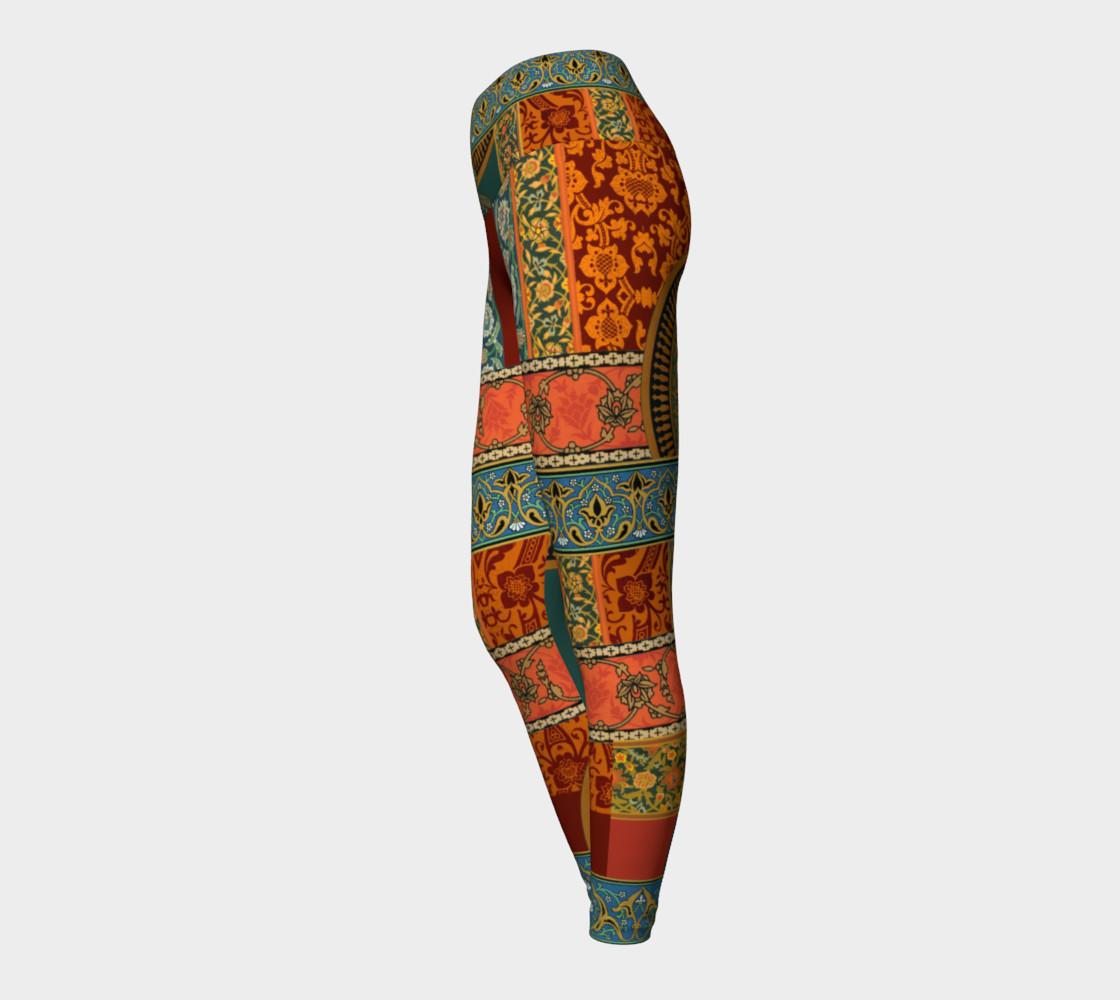 Aperçu de Historic Folkloric Yoga Leggings #3