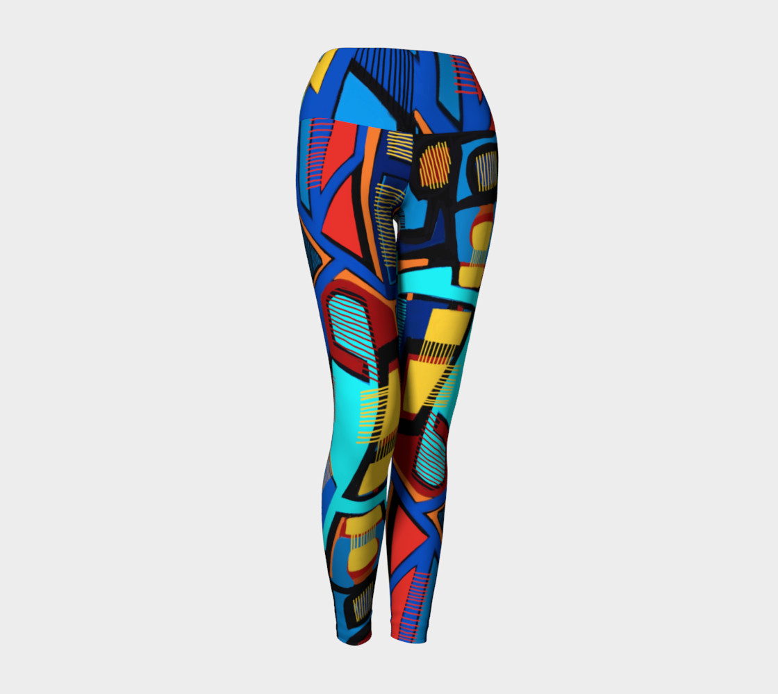 Blue Jazz Yoga Legging preview #1