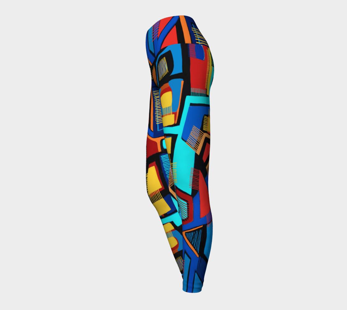Blue Jazz Yoga Legging preview #3