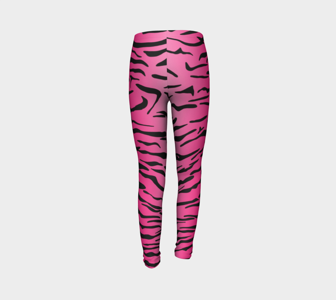 Pink Tiger Leggings Youth preview #7