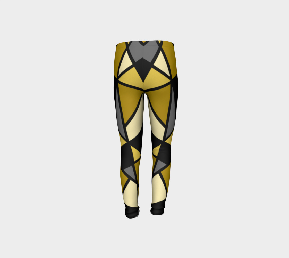 Modern Geometric in Yellow, Gray and Black preview #8