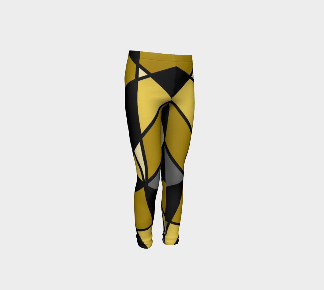 Modern Geometric in Yellow, Gray and Black preview #4