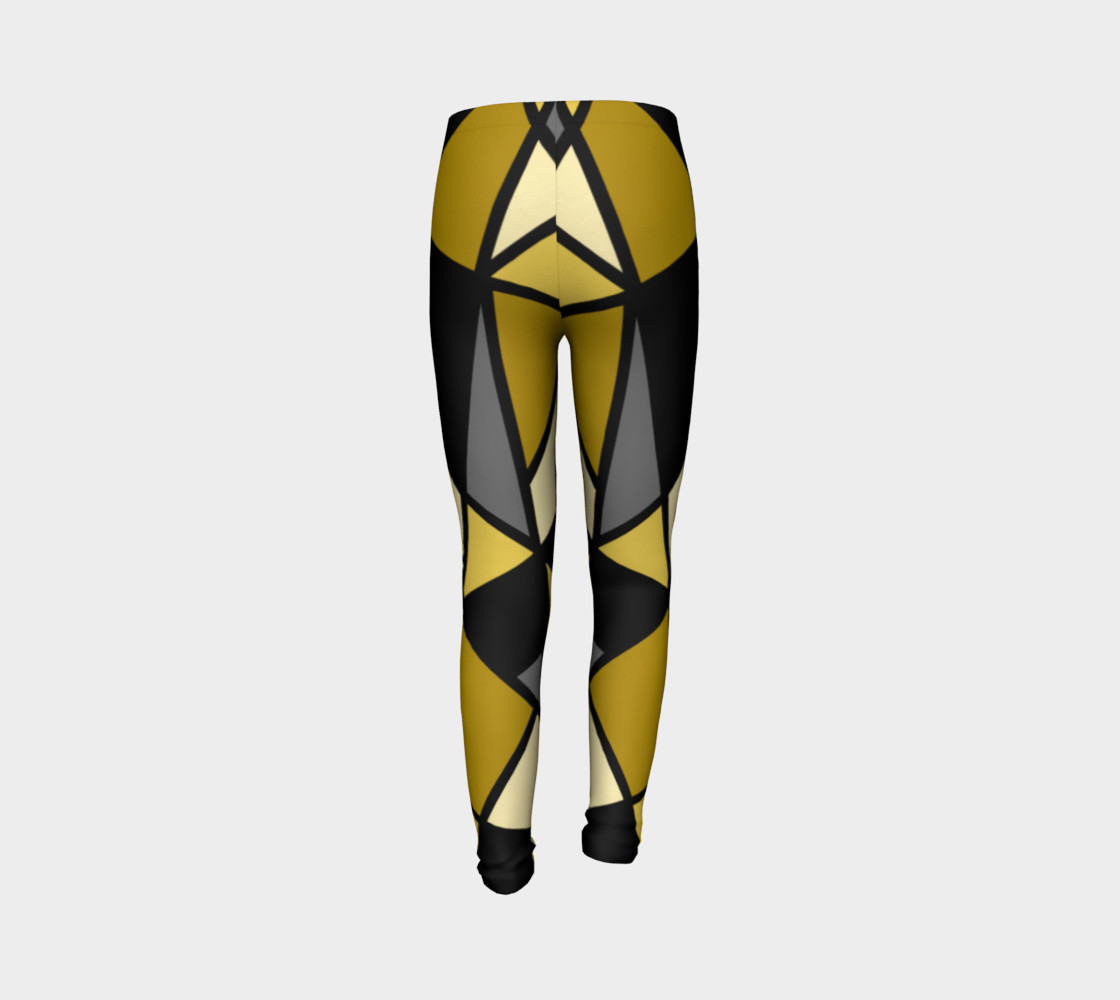 Modern Geometric in Yellow, Gray and Black preview #7