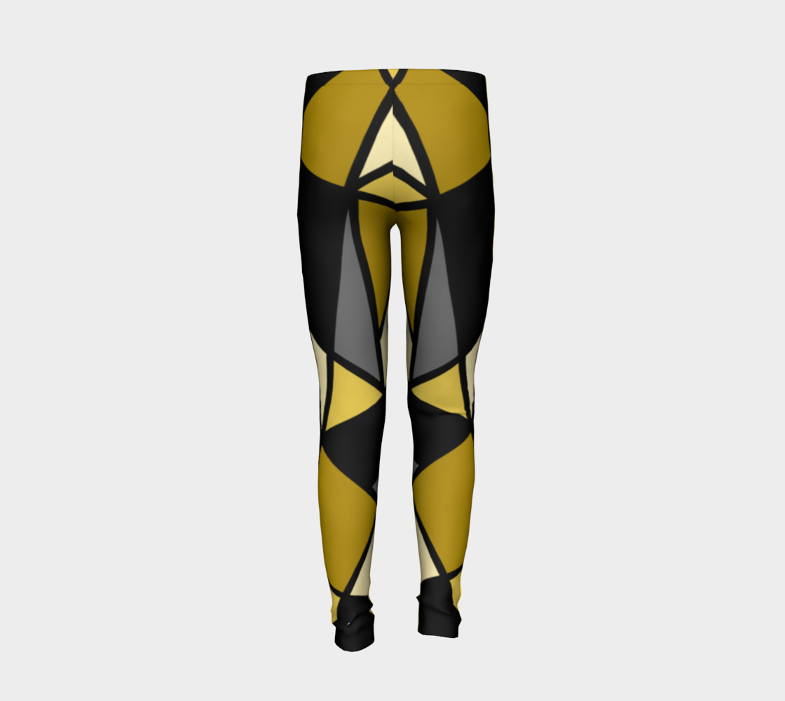 Modern Geometric in Yellow, Gray and Black preview #6
